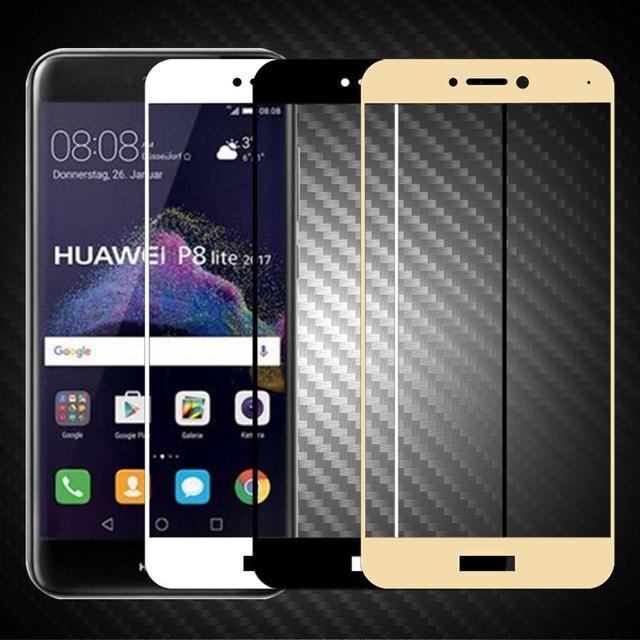 d1432abe9ad Para Huawei P9 Lite 2017 Protector de pantalla 9 H 2.5D de templado de  vidrio ...