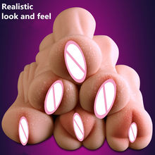 Newest! 6 Types Realistic Look and Feel Vagina Male Masturbator TPE Real Pussy Sex Doll Adult Products Sex Shop(China)