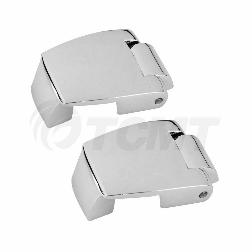 Image 5 - Motorcycle Razor Chopped King Tour Pak Latches & Hinges For Harley Touring Road King Road Electra Glide Street Glide 1988 2013-in Covers & Ornamental Mouldings from Automobiles & Motorcycles