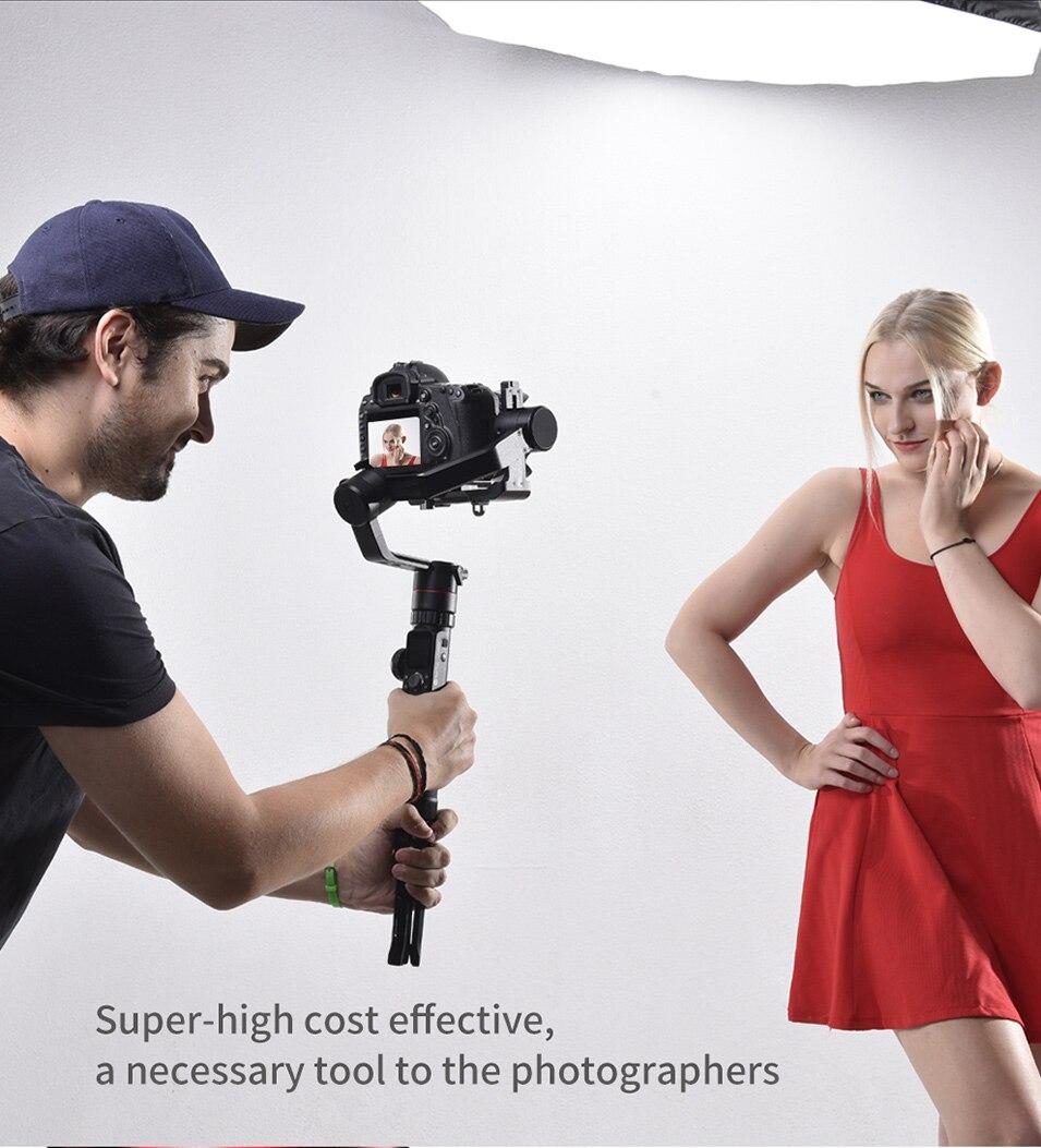 Feiyutech Feiyu AK4000 AK00 3-Axis DSLR Stabilizer Follow Focus Handhel Video Gimbal for Sony Canon Panasonic Nikon cameras 18