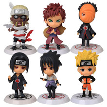 Figurine classique Naruto 6 pièces/ensemble en PVC, ensemble complet de jouets d'action, Collection de modèles, livraison gratuite
