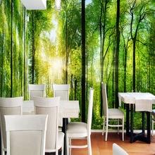 3D Landscape Custom Mural Natural Scenery Wallpaper Forest