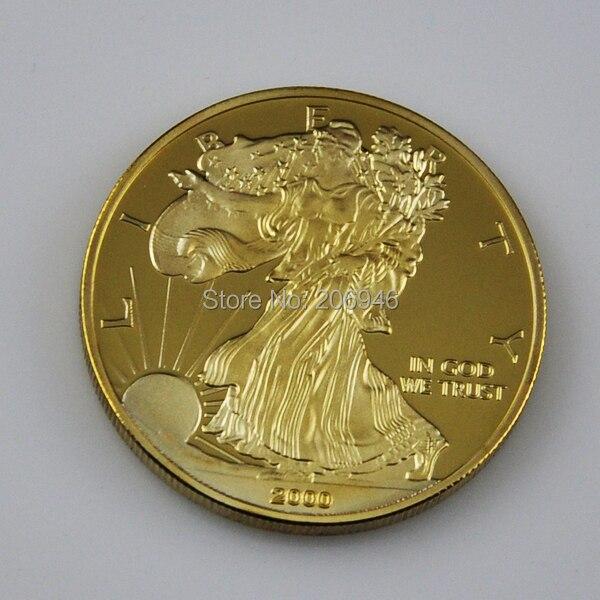 American Eagle Gold Clad Coin Wholesale 10 Pcs Lot 1oz 100