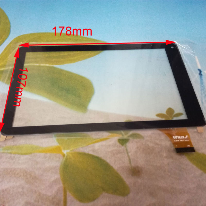 For RCA VOYAGER ll Model RCT6773W22 Tablet Capacitive Touch Screen 7 inch PC Touch Panel Digitizer Glass MID Sensor new 7 inch tablet pc mglctp 701271 authentic touch screen handwriting screen multi point capacitive screen external screen