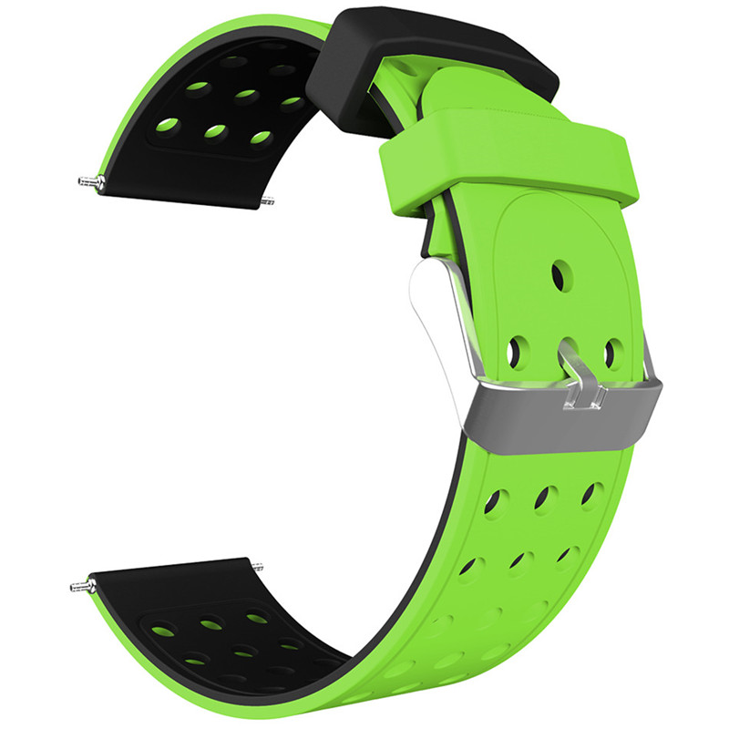ASHEI 20mm Watchband for Xiaomi Huami Amazfit Bip BIT PACE Lite Youth Smart Watch Sport Strap 22mm Silicone Band for Samsung