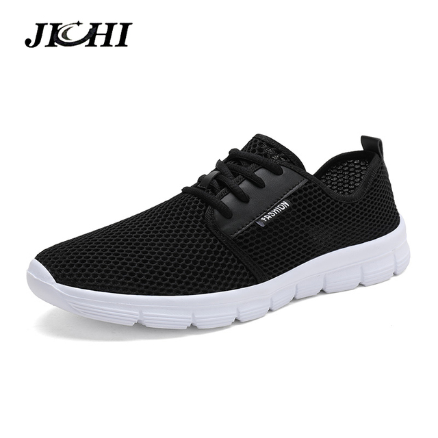 Trend 2019 Summer Sneakers Men Breathable Casual Shoes Men Fashion Man Sneakers Super Comfortable Lace-U  Men's Shoes Big Size