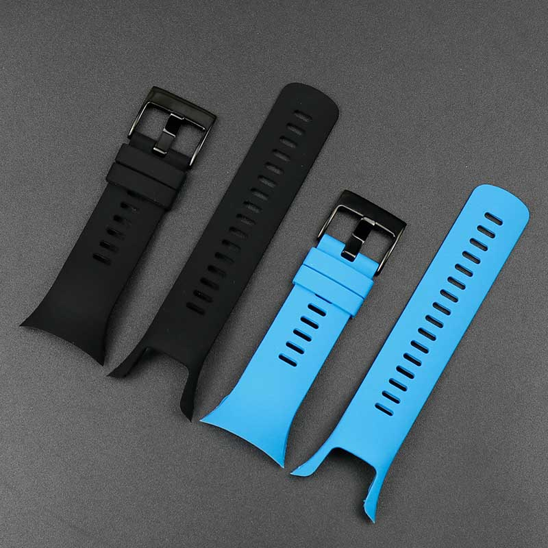 Image 3 - Watch accessories For Suunto Spartan Trainer Wrist HR cool running series men's and women's silicone sports waterproof strap-in Watchbands from Watches