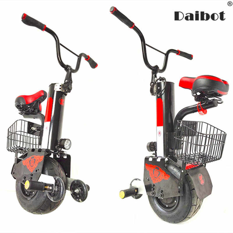 Daibot New Electric Unicycle Scooter 60V Self Balancing Scooters Range 30KM/45KM Powerful Electric Scooter For Adults/Women