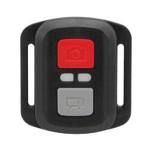 Image 1 - שחור עמיד למים אלחוטי 2.4G שלט רחוק תריס עבור EKEN H9R H8R H6S H7S H5S בתוספת ספורט פעילות המצלמה DV בקר