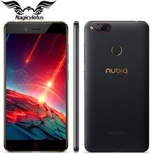 Original ZTE Nubia Z17 mini Smartphone 5.2 inch 4GB RAM 64GB ROM Snapdragon 652 Octa Core LTE Dual Rear Camera 13MP Android NFC