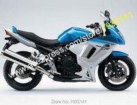 Лидер продаж, Индивидуальные комплект обтекателей для Suzuki GSX650F Запчасти 2008 2013 GSX 650F 08 09, 10, 11, 12, 13 лет, синий, серый мотоцикл комплект обтекател
