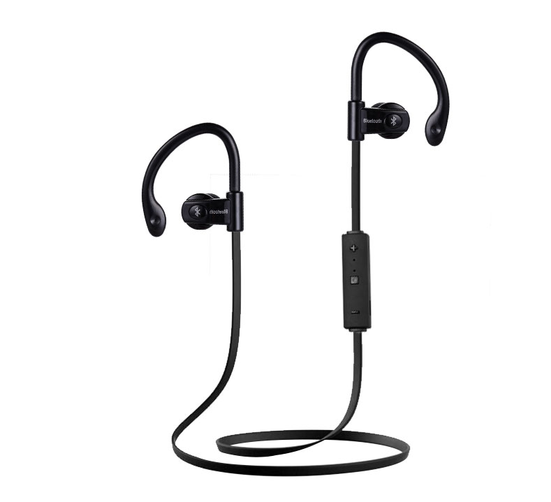 Sport Wireless Earphone Bluetooth 4.1 PTM YCH07 Headphone Brand Headset BT Earbuds with Mic for Mobile Phone PC Gaming Running