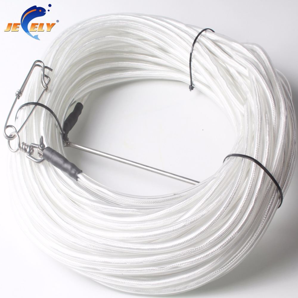 Free Shipping 10/20/30M PVC Coated UHMWPE Spectra Spearfishing Speargun&Freediving Float Line 1400LB Breaking Strength free shipping 1000m 300lb 100% uhmwpe braid kitesurfing line 1 2mm 4 weave