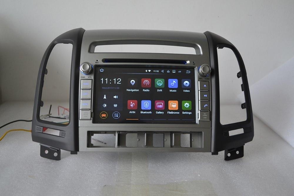 7 Android 7.1 with 2GB RAM,16GB ROM,for hyundai SANTA FE 2006 2012 car DVD player,gps navigation,3G,BT,Wifi,quad core 1024x600 farcar s130 hyundai santa fe 2012 на android 7 1 w209