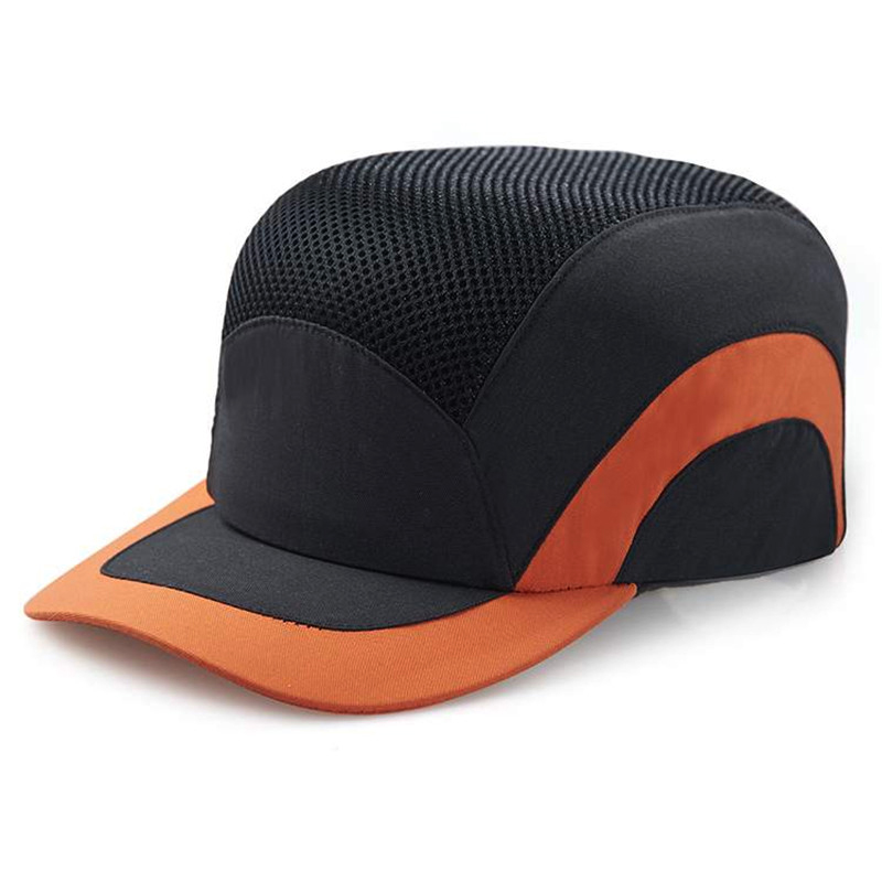 Men's Breathable Safety Bump Cap Safety Hard Hat Baseball Style Protective Hat casual letter c shape baseball hat