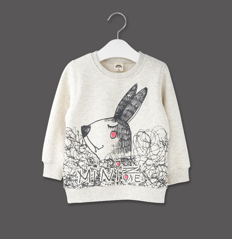 2016 Spring Boys Girls Sweatshirts for 2-6 Years Baby Children Clothes Cotton Casual Boys Girls Sweatshirts Hoodies Tops
