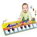 Novo Teclado Musical Música Toque em Reproduzir Cantando Ginásio Carpet mat puzzle tapetes Tapete Caçoa o Presente brinquedos do bebê tapete infantil