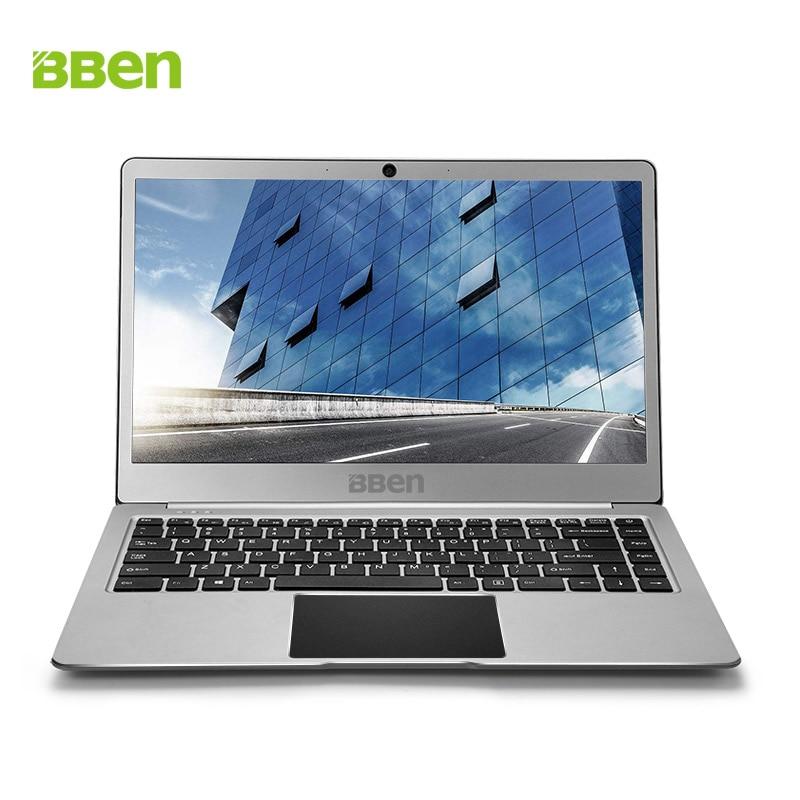 Bben N14W 14 pulgadas Windows 10 portátil ultrabook portátil sin ventilador 4 GB Ram 64 GB Emmc SSD opción USB3.0 Intel apollo N3450 CPU webcam
