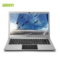 Bben N14W 14 дюймов Windows 10 ультрабук ноутбук без вентилятора 4 ГБ ОЗУ 64 ГБ Emmc SSD Вариант USB3.0 Intel apollo N3450 Процессор веб камера