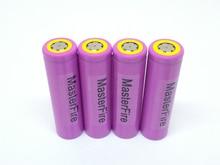 MasterFire 100 Original Sanyo 3 7V 3000mAh 18650 Rechargeable Battery Cells UR18650ZTA Li ion Batteries