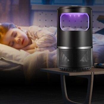 Veilig Fotokatalytische Muggen Killer Lamp LED Licht Niet Giftig UV Insect Trap Licht ALI88