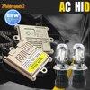Buildreamen2 55W H4 Hi/Lo Auto HID Xenon Kit AC Ballast Bi Xenon Lamp Harness Wire 3000K-12000K Conversion Car Light Headlight