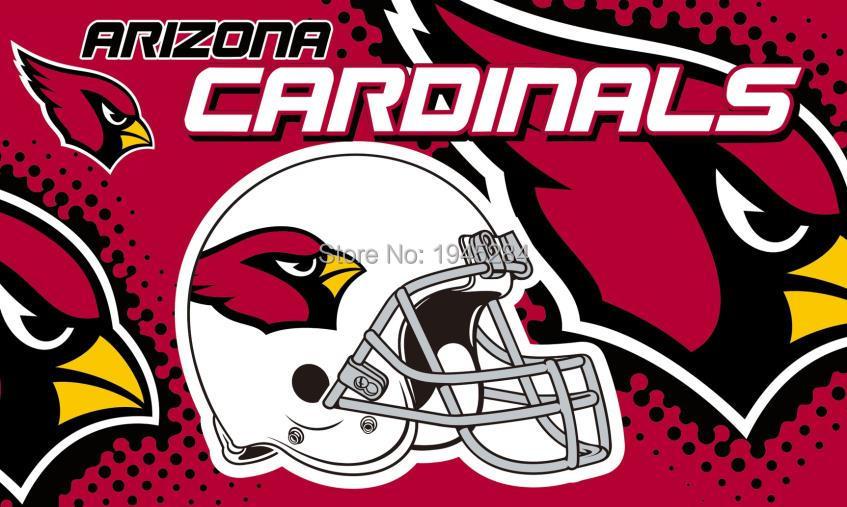 Arizona Cardinals Helmet Flag Banner 002 New 3x5ft 90x150cm Polyester NFL 9573, free shipping
