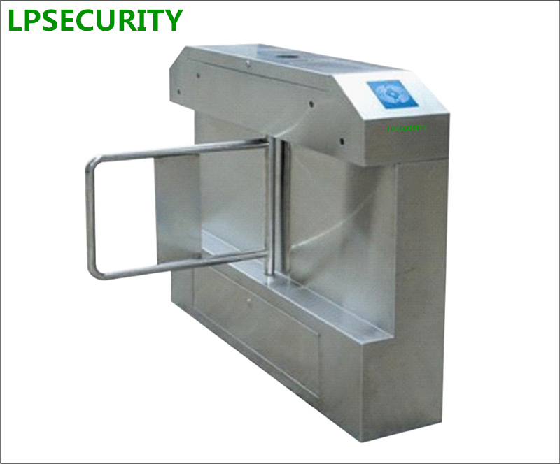 LPSECURITY RFID access parkTurnstile/Turnstile Access Control/Turnstile Barrier Gate/Swing Turnstile Barrier for Access Control hand push turnstile manual turnstile mechanical turnstile gate for access control