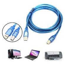 3m USB 2.0 A to B Male M/M Printer Print High Speed Cable Cord Plug Scanner SGA998