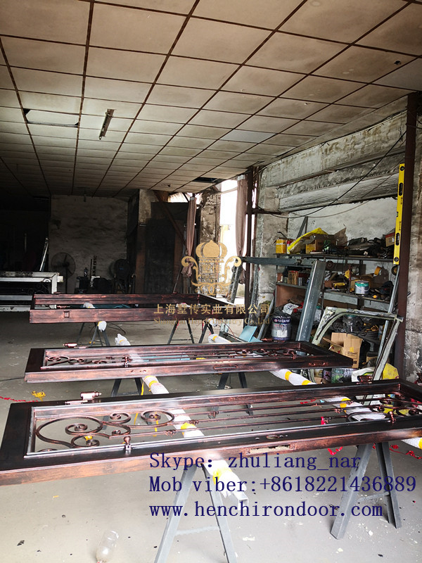 Whole Sale Best Iron Doors Iron Double Doors Iron Doors Best Price For Sale  Hc26