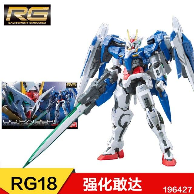 1:144 Bandai Model Gundam Plastic Model Assembly GUNPLA RG Attack Golden Red Heresy Unicorn Flying Wing 00r Angel Real Grade 1
