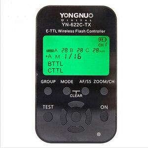 Image 2 - YONGNUO YN 622C II عدة E TTL فلاش لاسلكي الزناد استقبال Yongnuo YN622C + YN622C TX لكانون Yongnuo YN685 YN600EX RT الثاني