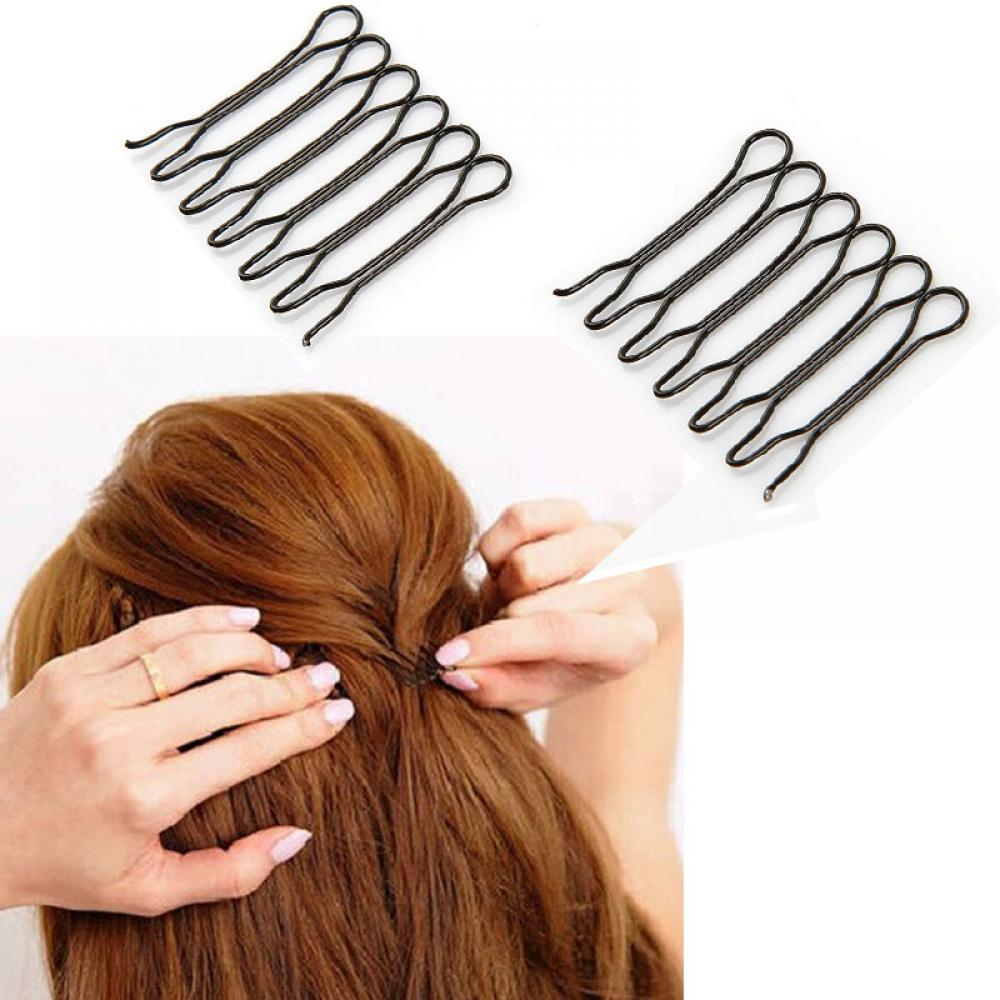 2 Pack Japan Style Bangs Styling Clips Tools Front Hair Comb Clips Convenient Tools Front Hair Comb Clips Fashion New Hot