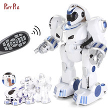 New Wireless Remote Dancing Robot Toy Intelligent Gesture Control RC Robot Robotica Kit Action Figure Programming Birthday Gift(China)