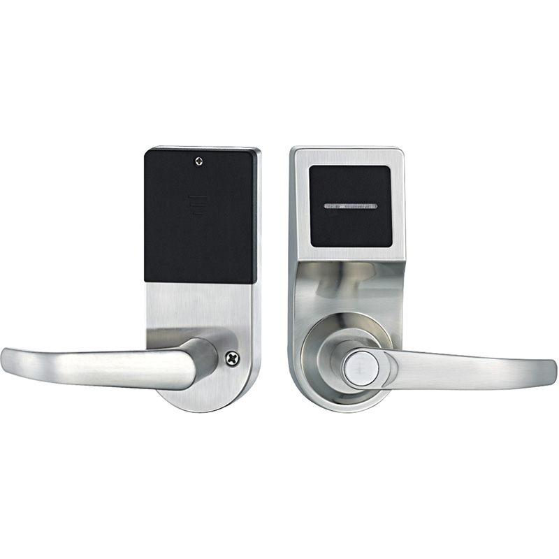 Electronic Door Lock Smart RFID Card Lock For Home Hotel Apartment Office Zinc Alloy Single Latch L16086card hotel lock system rfid t5577 hotel lock gold silver zinc alloy forging material sn ca 8037