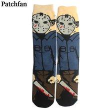 Patchfan пятница 13th Фильм Смешной 90s аниме футболка с принтом