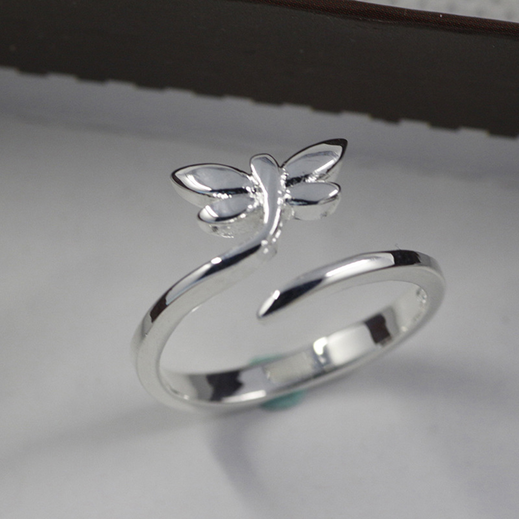 line Buy Wholesale silver dragonfly rings from China silver