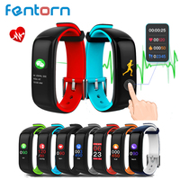 Fentorn P1 Plus Smart Band IP67 Waterproof Support Heart Rate Blood Pressure Monitoring With Color Display