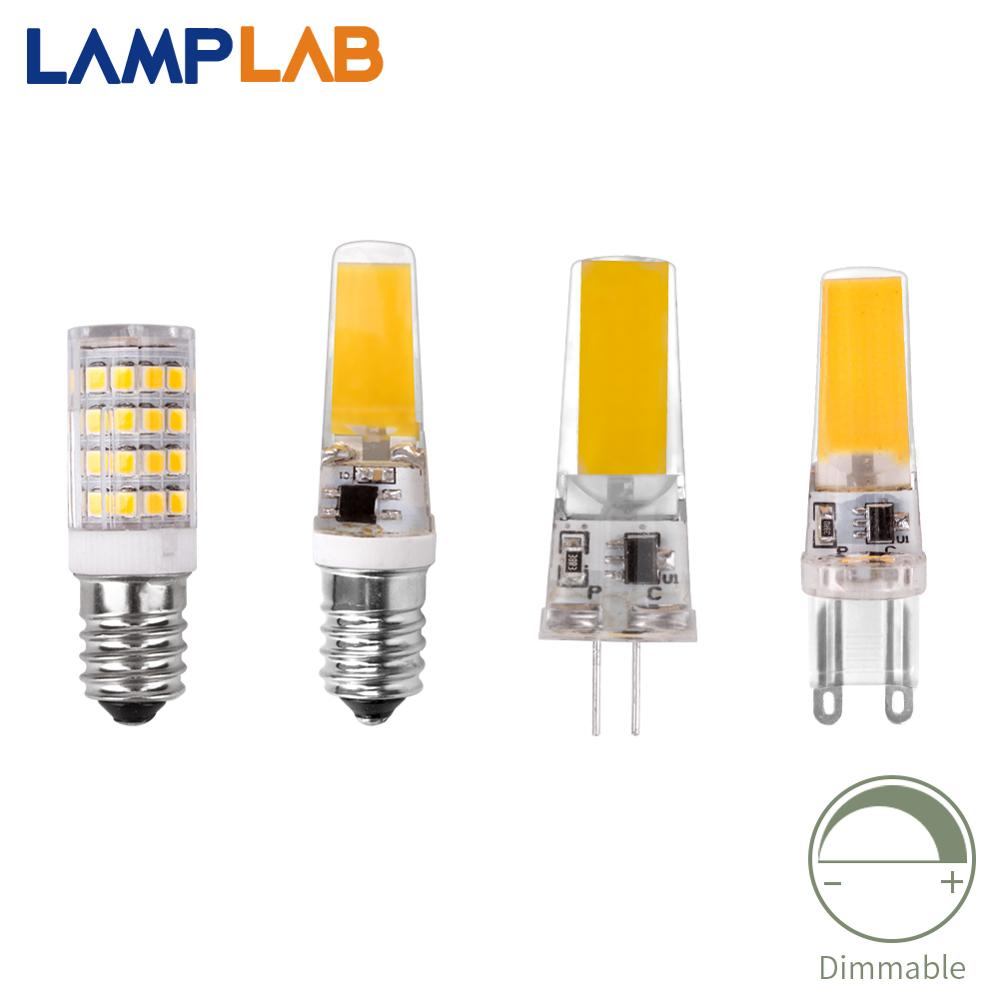 <font><b>Led</b></font> <font><b>G4</b></font> COB SMD Replace Halogen Lighting Lights G9 E14 Lamp Bulb Bombillas Dimming AC DC <font><b>12V</b></font> 220V 3W 6W <font><b>9W</b></font> Spotlight Chandelier image