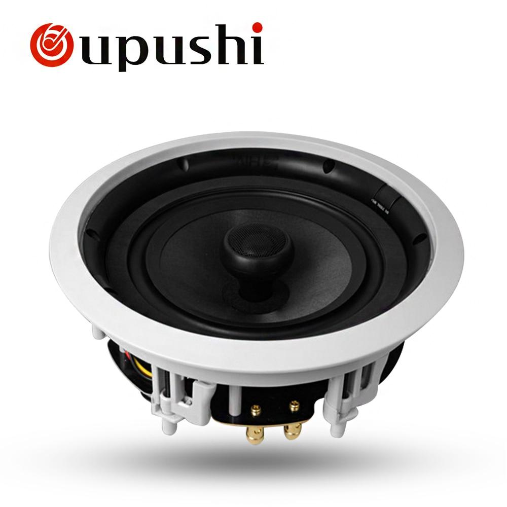 Oupushi 8 Inch Ceiling Speaker Public Broadcasting
