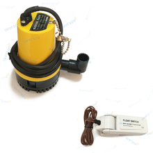 TURE 1000 GPH 12V Submersible Marine Boat Bilge Water Pump With Float Switch BL-2512N