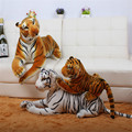 2015 new hot  High-grade super realistic simulation tiger plush toys household decoration children's pillow a birthday present