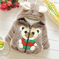 Warm Winter Baby Infants Boys Kids Hoody Hooded Thicken Bear Deer Elephant Snow Wear Jackets Cardigan Outwear Coat Parkas S3970
