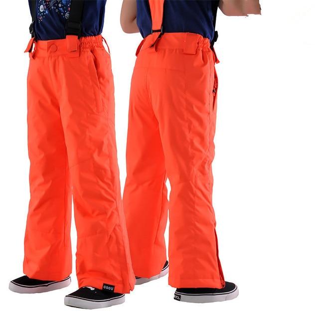 d8210e77e Gsou Snow Brand Kids Ski Pants Waterproof Children Snowboard Pants ...