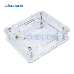 1pc powłoka akrylowa przezroczysta powłoka skrzynki skrzynka dla W1209 cyfrowy regulator temperatury