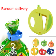 New High Quality Food Snacks Chip Storage Bag Sealing Clip Lock Sealer Fresh