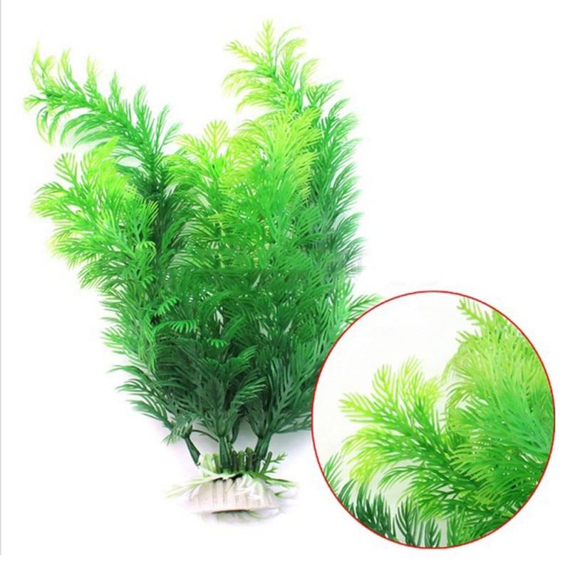 Hot Ornament Artificial Plant Grass for Fish Tank Aquarium Decoration Green Fish Tank Submersible Flower Grass