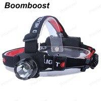 Boomboostร้อนขายไฟLEDแบบชาร์จไฟหน้าอลูมิเนียมอัลลอยด์จักรยานledไฟหน้าสำหรับตั้งแคมป์ล่าสัตว์ขี่...
