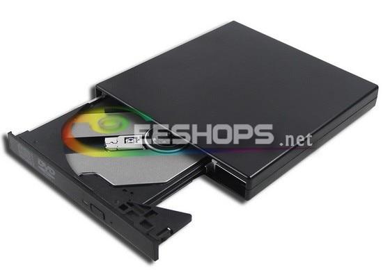 Cheap Laptop USB External 8X DVD ROM Combo Player Reader 24X CD R Burner Portable font