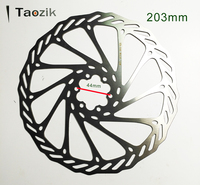 Cool price 6 bolt high end quality steel 203mm G3 DH MTB XC bicycle brake disc